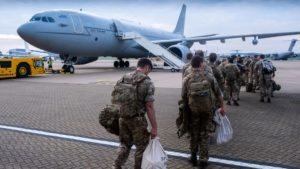 Troops Leave Afghanistan