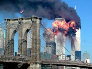 Twin Towers On Fire - Reurters Media